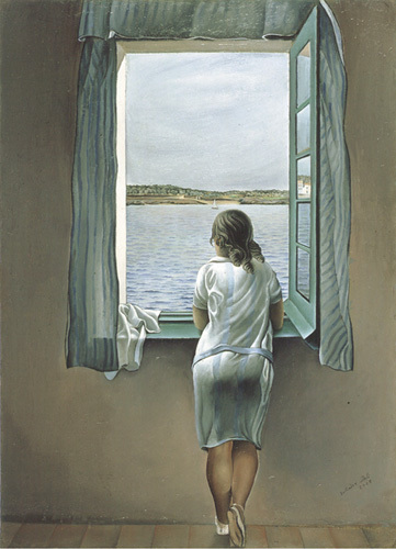 Person at the Window by Salvador Dali
