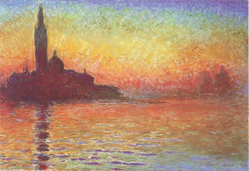 San Giorgio Maggiore by Claude Monet
