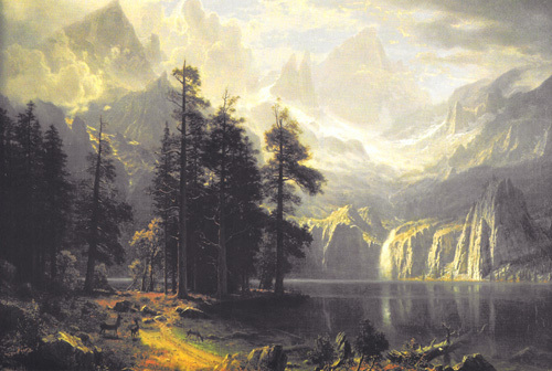 Sierra Nevada by Albert Bierstadt
