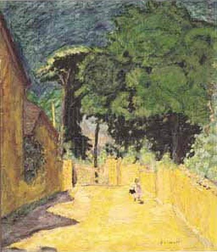 Lane At Vernonmet by Pierre Bonnard