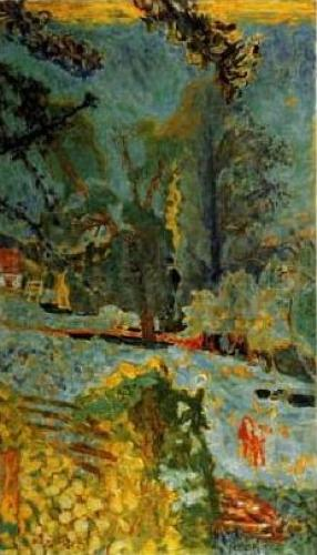 Normandy Landscape by Pierre Bonnard