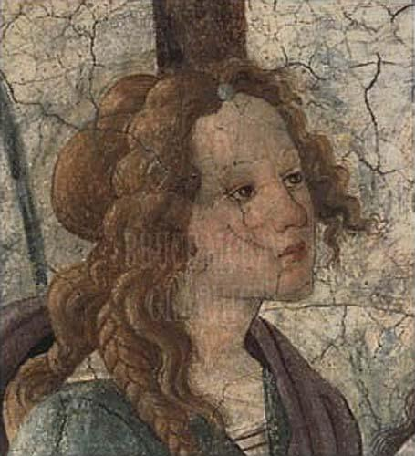 Venus & The Three Graces (Detail) by Sandro Botticelli