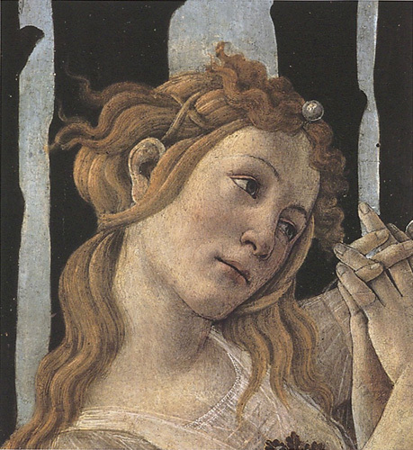 La Primavera (Detail) by Sandro Botticelli