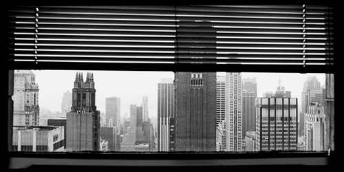 View over Manhattan, New York by Torsten Andreas Hoffmann