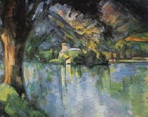 The Lake of Annecy by Paul Cezanne