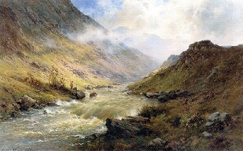 Glencoe by Alfred de Breanski
