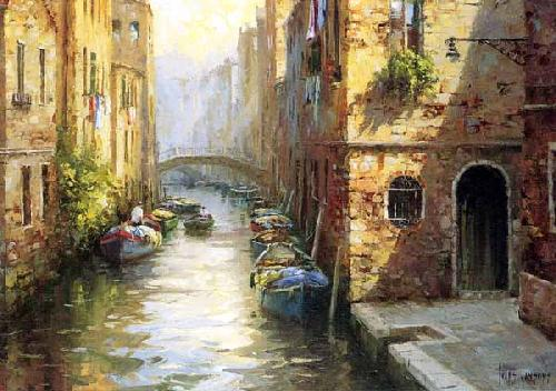 Late Afternoon,Venice by Ivars Jansons