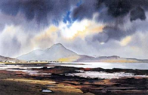 Spring Tides, Broadford Bay by Peter McDermott