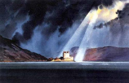 Majestic Eilean Donan by Peter McDermott