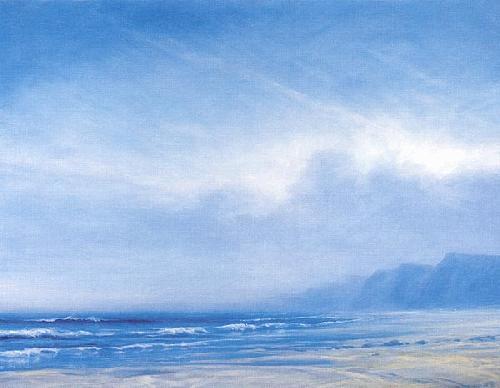 Beach at Castelejo by Derek Hare