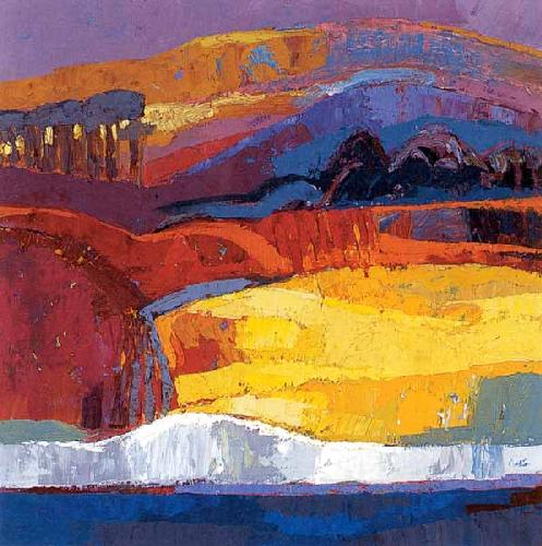 Down to the White Cliffs by Kirsty Wither