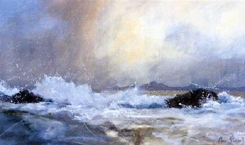 Dunvegan Head, Skye by James Bartholomew