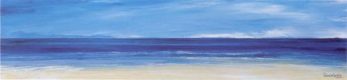 Aqua Blues I (small) by Ronnie Leckie