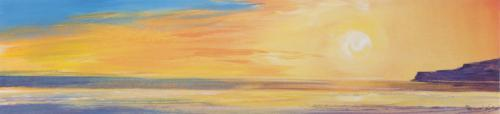 Golden Sunset I by Ronnie Leckie