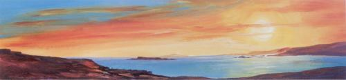 Golden Sunset II (small) by Ronnie Leckie