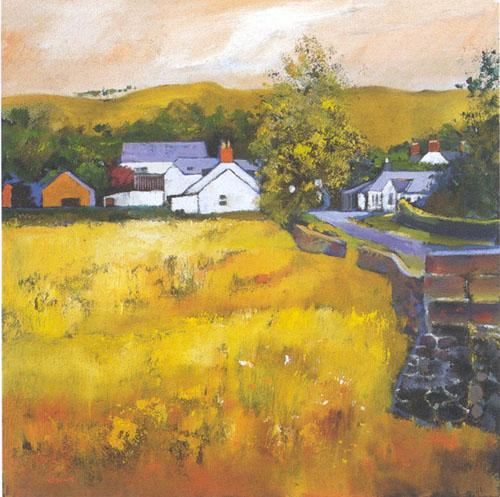 Moniaive Village by Davy Brown
