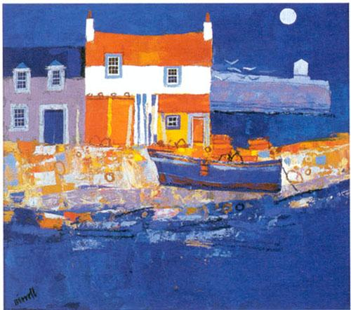 Blue Harbour by George Birrell