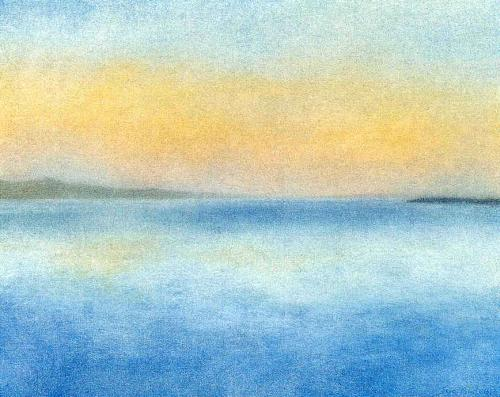 Gentle Sea by Sue Biazotti