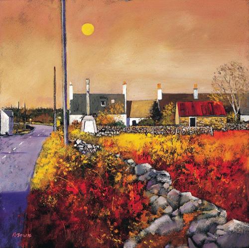 Galloway Village by Davy Brown