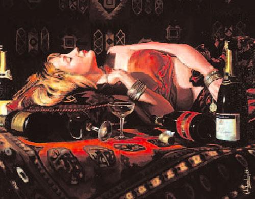 Champagne by John Luce Lockett