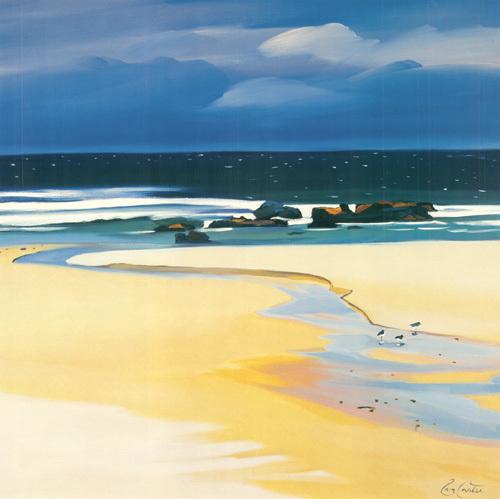 The Stream, Balevullin by Pam Carter