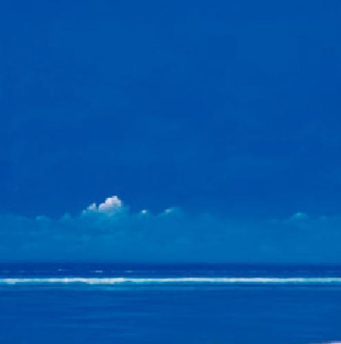 Blue Upon Blue by Derek Hare