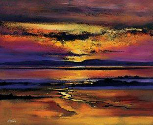 Cree Sunset by Davy Brown