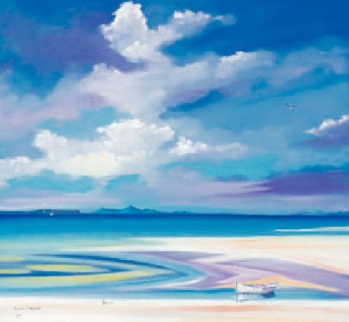 Silver Sands, Eigg and Rum by Daniel Campbell