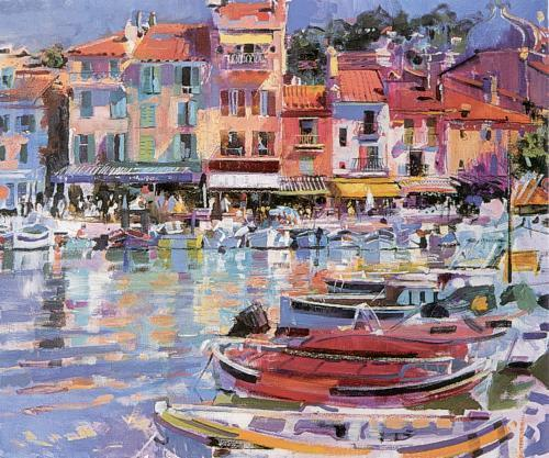 Cassis Vista by Peter Graham