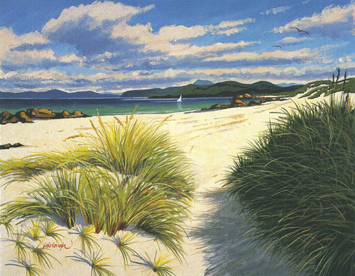 Ben More From Iona by Frank Colclough
