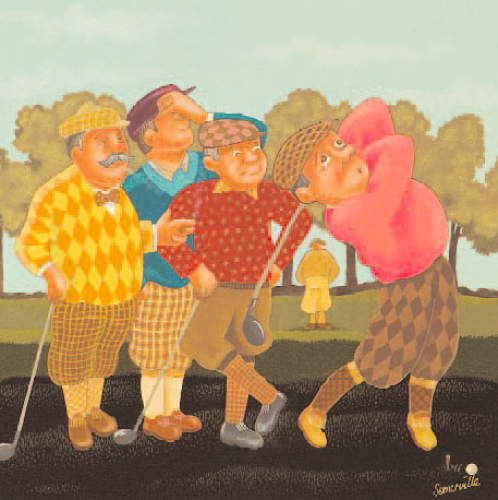 The Old Course by Joan Somerville