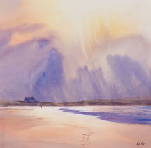 Stormy Skies over Durness by Liz Yule