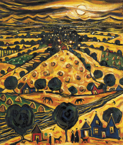 Harvest Moon by Charles Monteith Walker