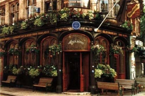 The Bloomsbury Pub, London by George Ferris