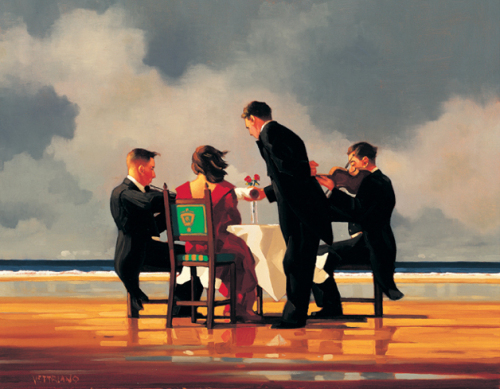Elegy for a Dead Admiral by Jack Vettriano