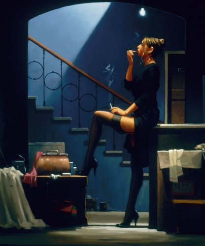 Dancer for Money by Jack Vettriano
