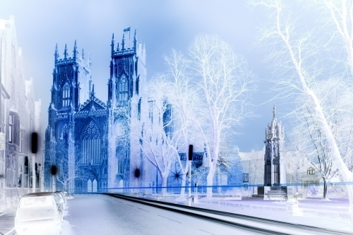 Ghostly Cathedral I by Richard Osbourne