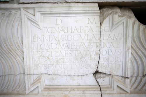 Roman Inscription III by Richard Osbourne