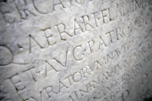 Roman Inscription IV by Richard Osbourne