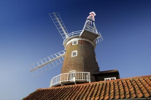 Norfolk Windmill II by Richard Osbourne