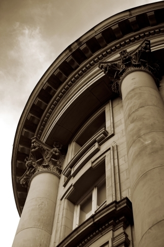 Classical Architecture - Sepia by Richard Osbourne