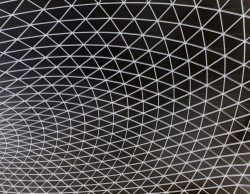 British Museum Roof Detail by Richard Osbourne