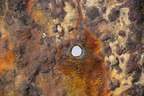 Rusted Metal (Detail) by Richard Osbourne