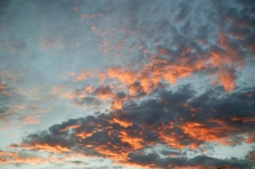 Sunset Clouds II by Richard Osbourne