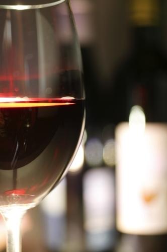 Red Wine I by Richard Osbourne