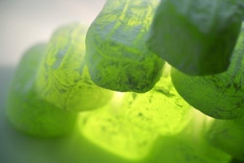 Green Turkish Delight I by Richard Osbourne