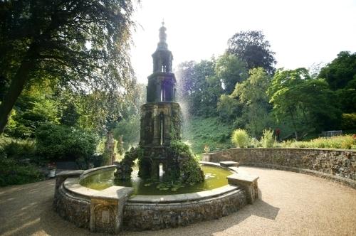 Victorian Garden II by Richard Osbourne