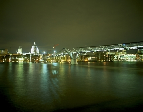 St Pauls And The Thames by Richard Osbourne