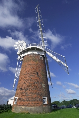 Horsey Windmill, Norfolk II by Richard Osbourne