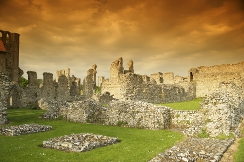 Castle Acre Priory - Norfolk by Richard Osbourne